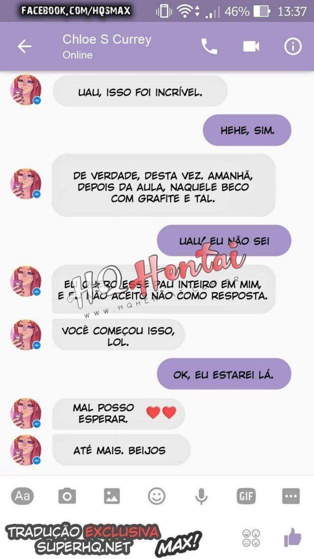 Sexo com Chloe pelo Whatsapp