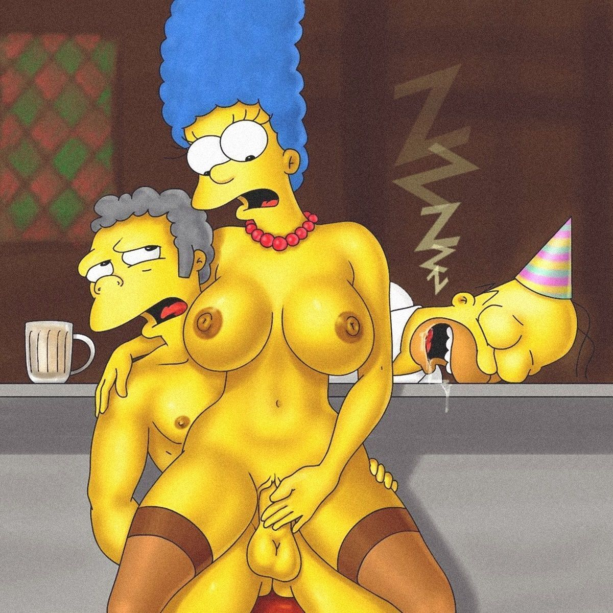Pack Simpsons hentai