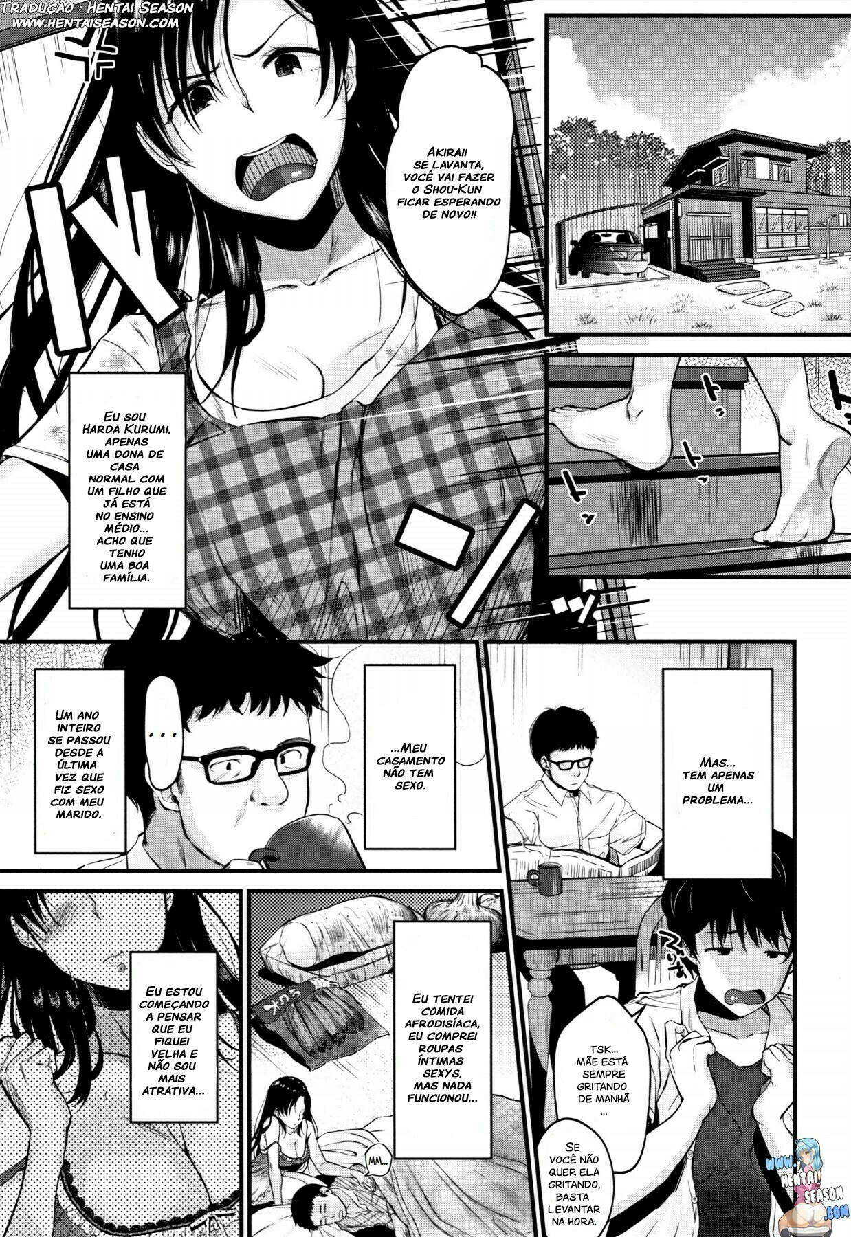 Kyonyuu Mama no Onayami Kaiketsu Saku!